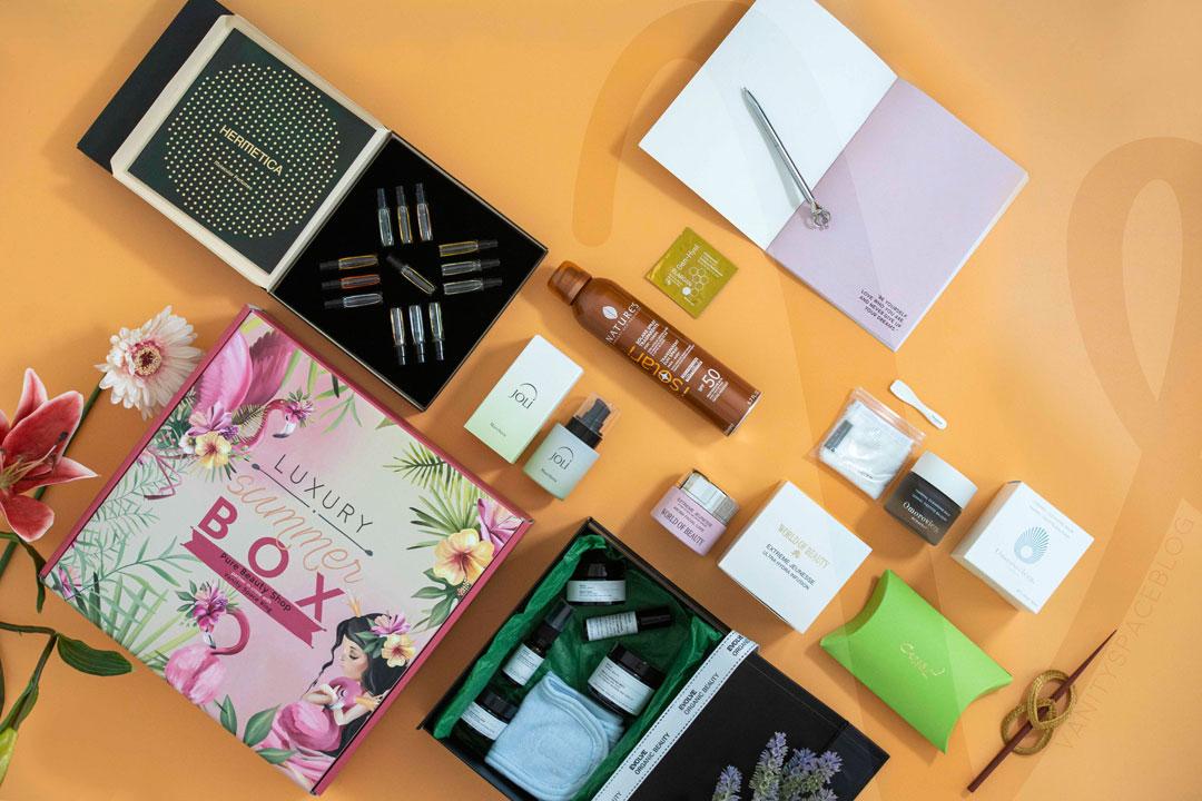 summer luxury box 2020 contenuto
