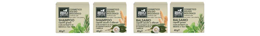 PH Bio Green shampoo e balsamo