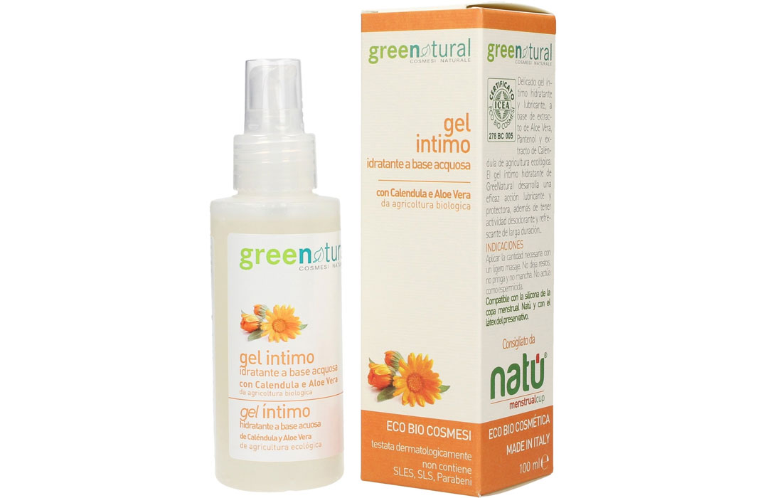 greenatural gel lubrificante naturale