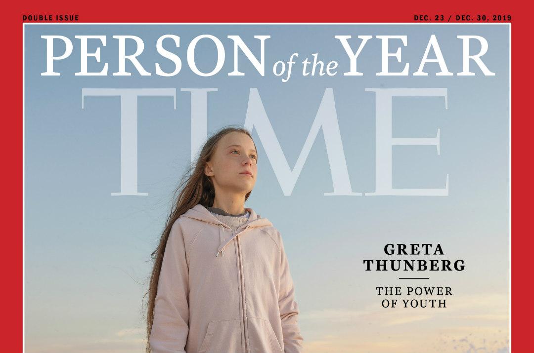 Greta Thunberg persona dell'anno Times