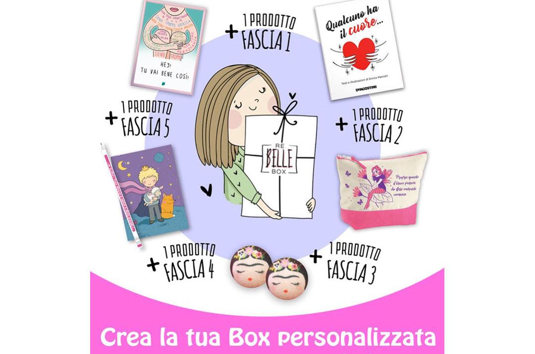 Rebelle box - componi la tua box