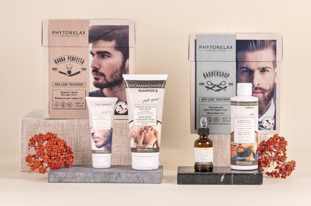 confezioni regalo natale uomo barba phytorelax 2020