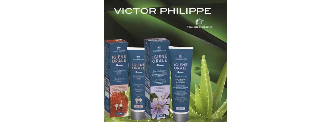 dentifricio senza nichel victor philippe