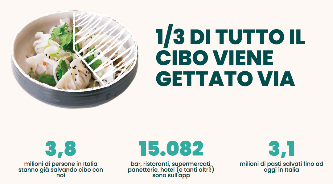 too good to go app numeri in italia