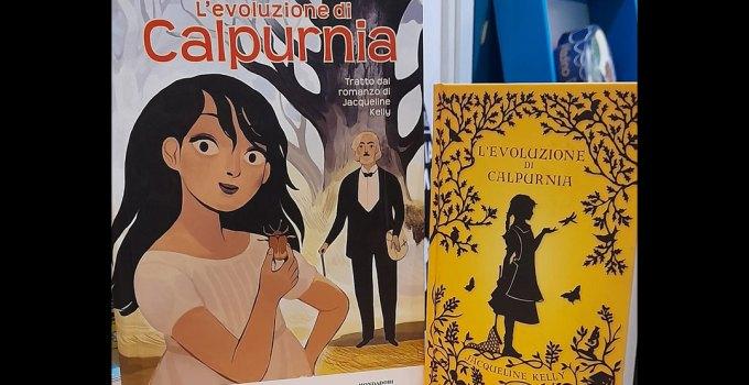 L'evoluzione di Calpurnia : dal libro al fumetto