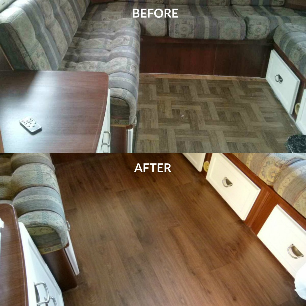 lino before after