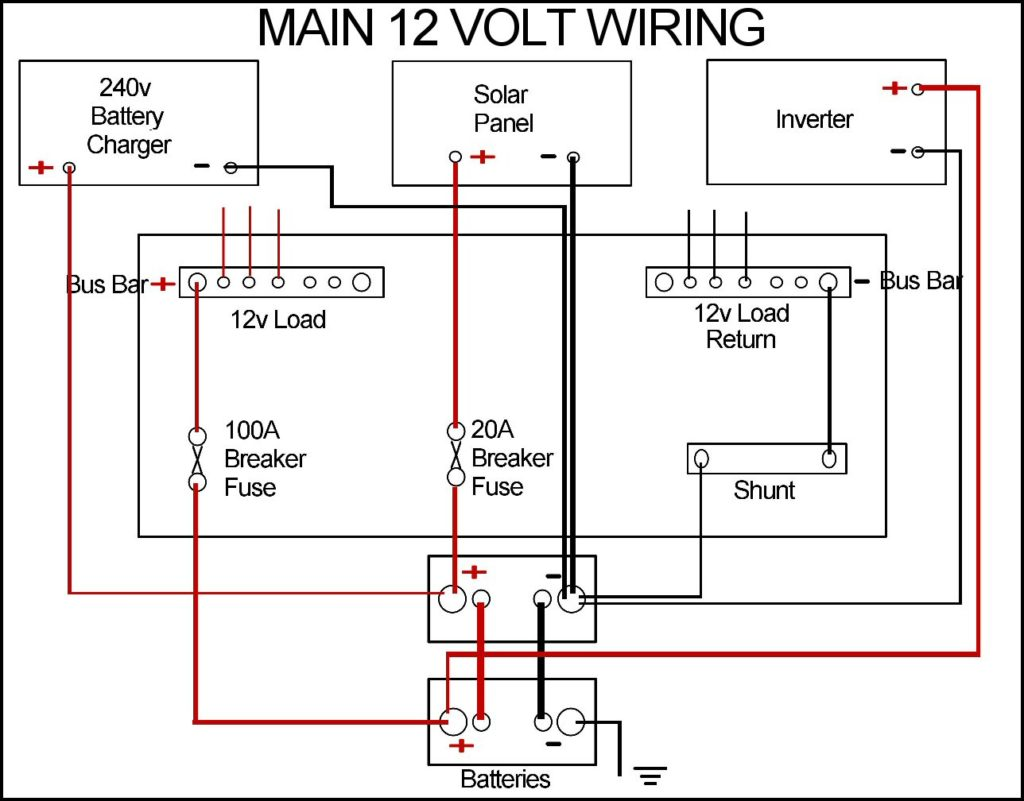 Dual Battery Wiring Diagram Bus Electrical Diagrams Fan And The Diy Enthusiasts U2022 Radiator