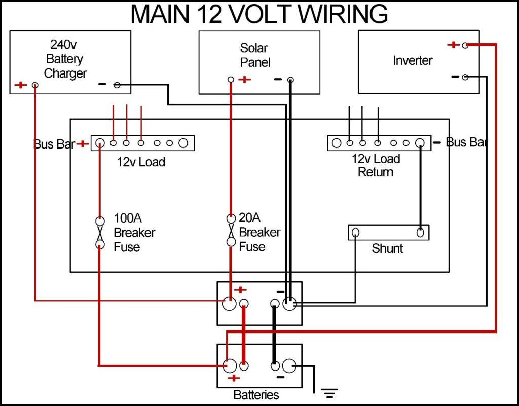 Dual Battery Wiring Diagram Bus Electrical Diagrams 12 Volt Diy Enthusiasts U2022 Radiator Fan