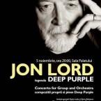 Concert Jon Lord – Sala Palatului