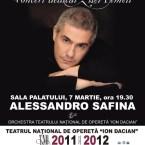 Concert Alessandro Safina, la Sala Palatului