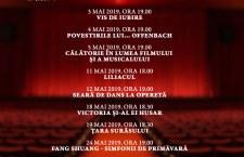 Luna mai la Teatrul National de Opereta si Musical Ion Dacian