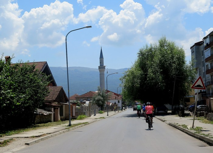 Biking in Albania brings you into villages you would not visit otherwise © 2016 Karen Rubin/gongplacesfarandnear.com