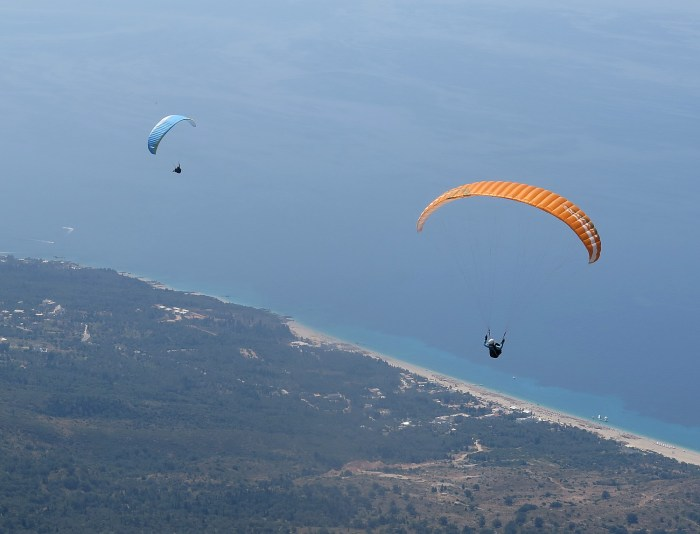 Paragliding in Albania © 2016 Karen Rubin/goingplacesfarandnear.com