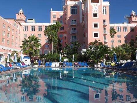 Loews Don CeSar Hotel (1928), St. Pete Beach, Florida © 2016 Karen Rubin/goingplacesfarandnear.com