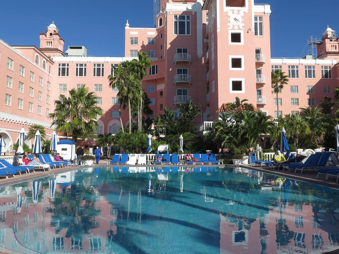 Loews Don CeSar Hotel (1928), St. Pete Beach, Florida © 2016 Karen Rubin/goingplacesfarandnear.com