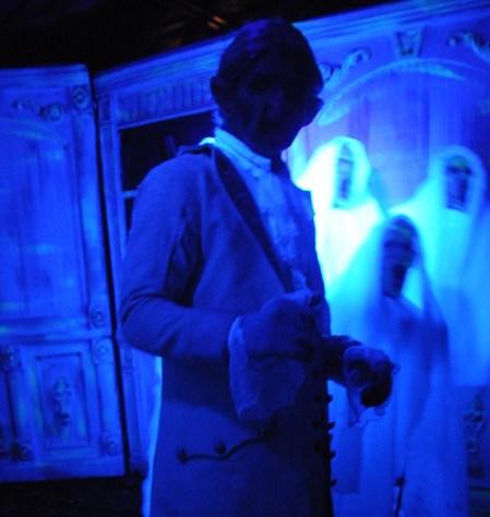 Colonial ghouls inhabit Horseman's Hollow, at Philipsburg Manor in Sleepy Hollow, NY © 2016 Karen Rubin/goingplacesfarandnear.com