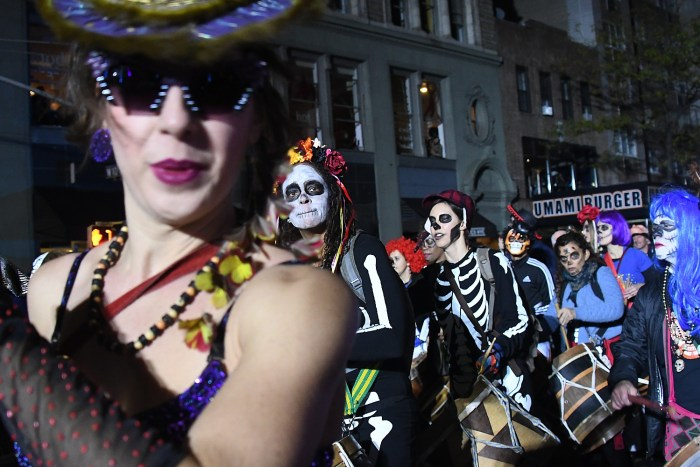 More than 50,000 join in the Village Halloween Parade © 2016 Karen Rubin/goingplacesfarandnear.com