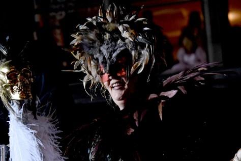Parade producer Jeanne Fleming has made the Village Halloween Parade into an art installation that inspires a sense of community © 2016 Karen Rubin/goingplacesfarandnear.com