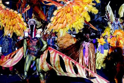 New York City's 43rd Annual Village Halloween Parade © 2016 Karen Rubin/goingplacesfarandnear.com