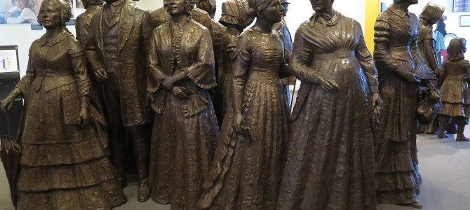 Cycle the Erie, Day 3: Seneca Falls Hails its Role in Birthing Women's Rights