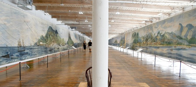 A Spectacle in Motion: Grand Panorama of a Whaling Voyage 'Round the World is Once-in-a-Lifetime Must-See at New Bedford Whaling Museum