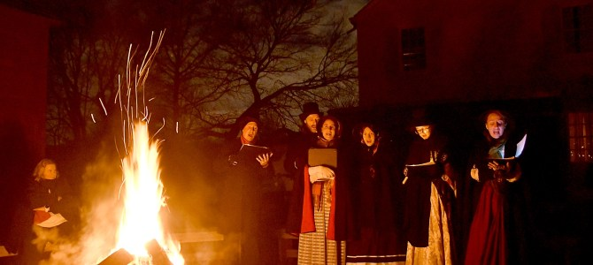 Candlelight Evening in Old Bethpage Village Restoration Warms the Heart, Soothes the Soul