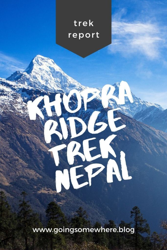 Khopra trek Pinterest