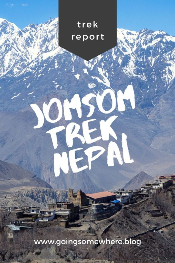 Jomsom trek Pinterest
