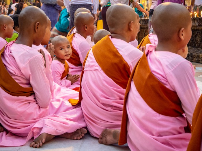 Novice nuns Myanmar