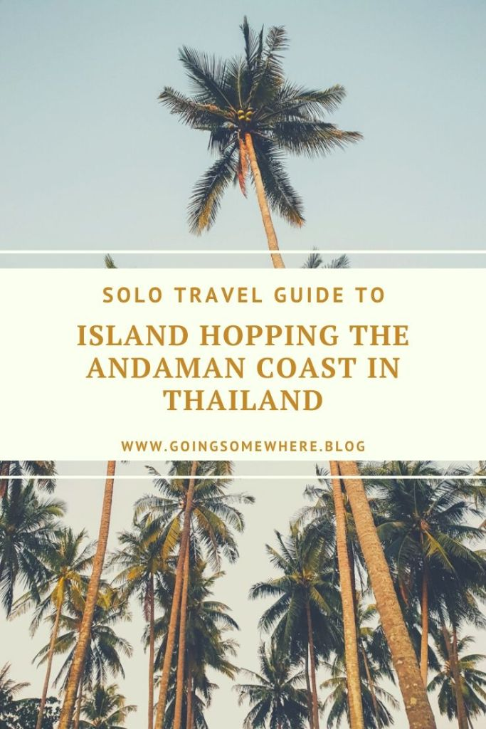 Solo travel in Thailand Pinterest