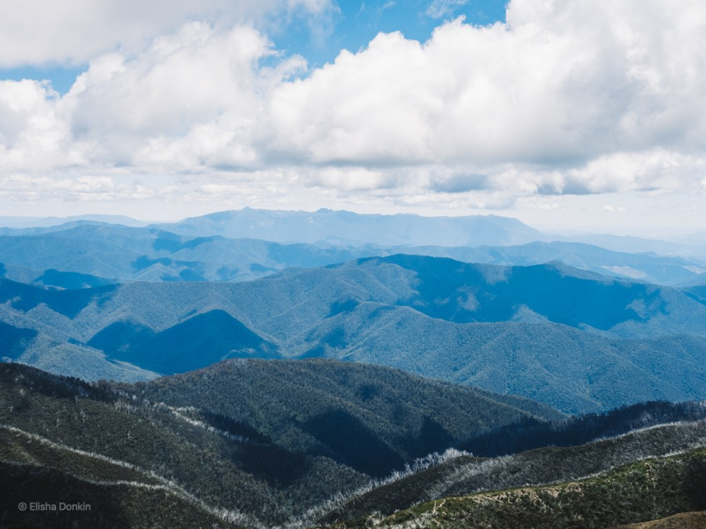 Mt Buffalo from Feathertop