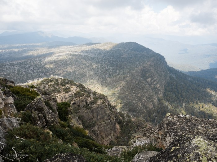 View from Mt Cobbler