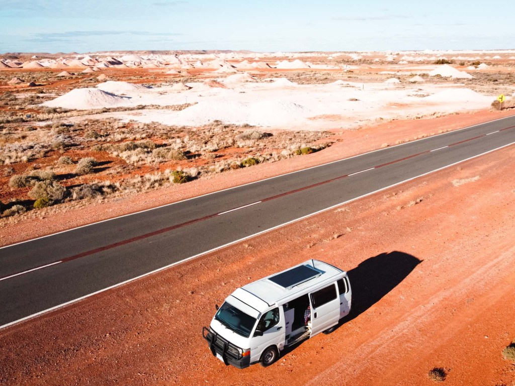 Travelling to Coober Pedy