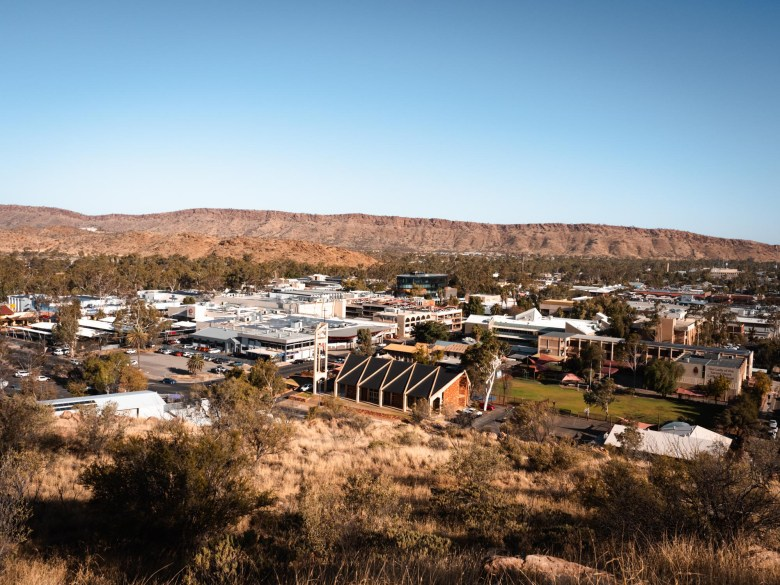 View of Alice Springs