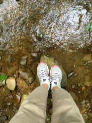 My feet stayed dry!