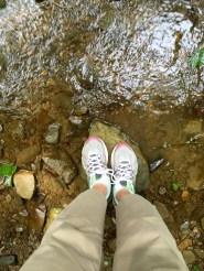 My feet stayed dry!