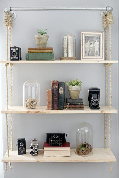 Awesome Stylish Diy Floating Shelves Wall Shelves Easy Download Free Architecture Designs Intelgarnamadebymaigaardcom