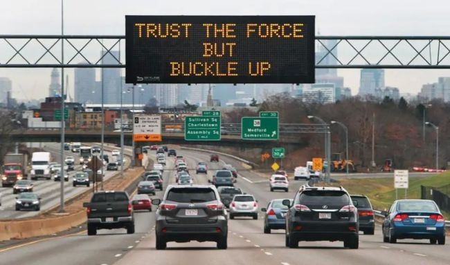 gambar Rambu lalu lintas elektronik