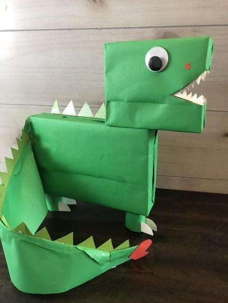 Alligator or Dinosaur box?