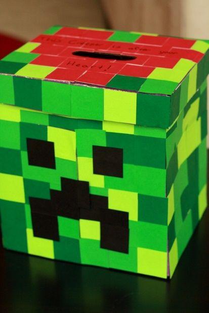 The Minecraft Creeper box