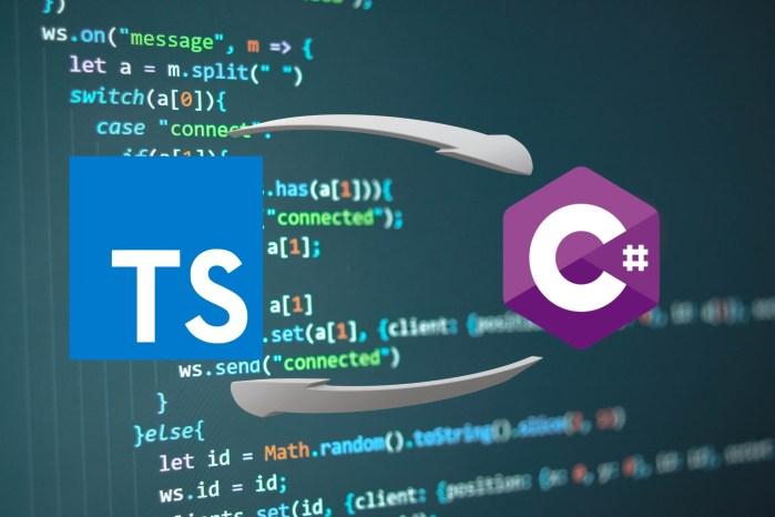 coding typescript C# header