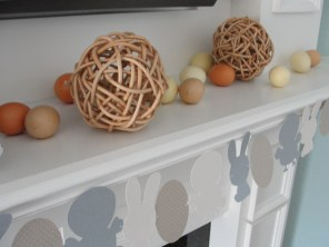 eggs and garland