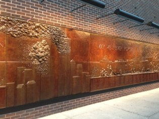 FDNY Memorial Wall at Ten House - May we never forget...