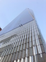 One World Trade Center - looking up / side view