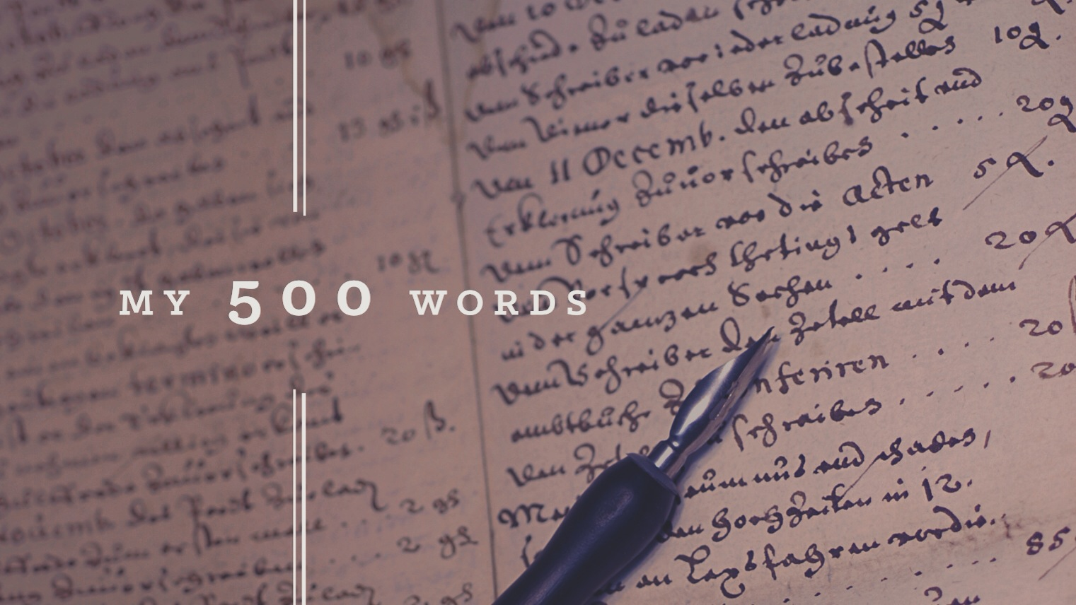 words my 500 words