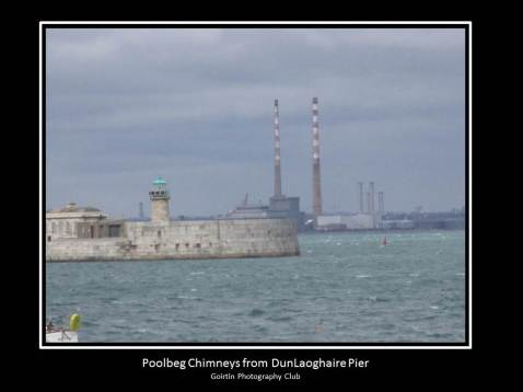 Chimneys From Dun Laoghaire