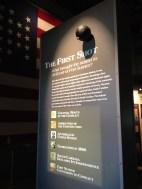 Exhibit inside the mainland museum