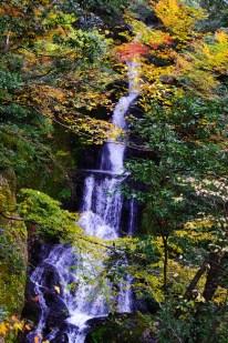 Umenoki-Todoro waterfall Autumn