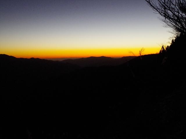 Nearly dawn