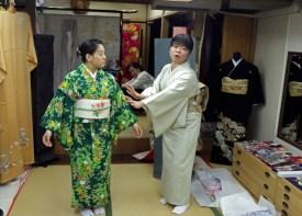 Lecture about Kimono